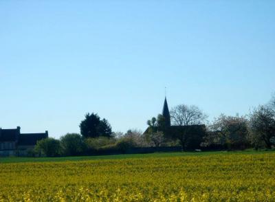 Vue sur le Village de Saint-Hilliers